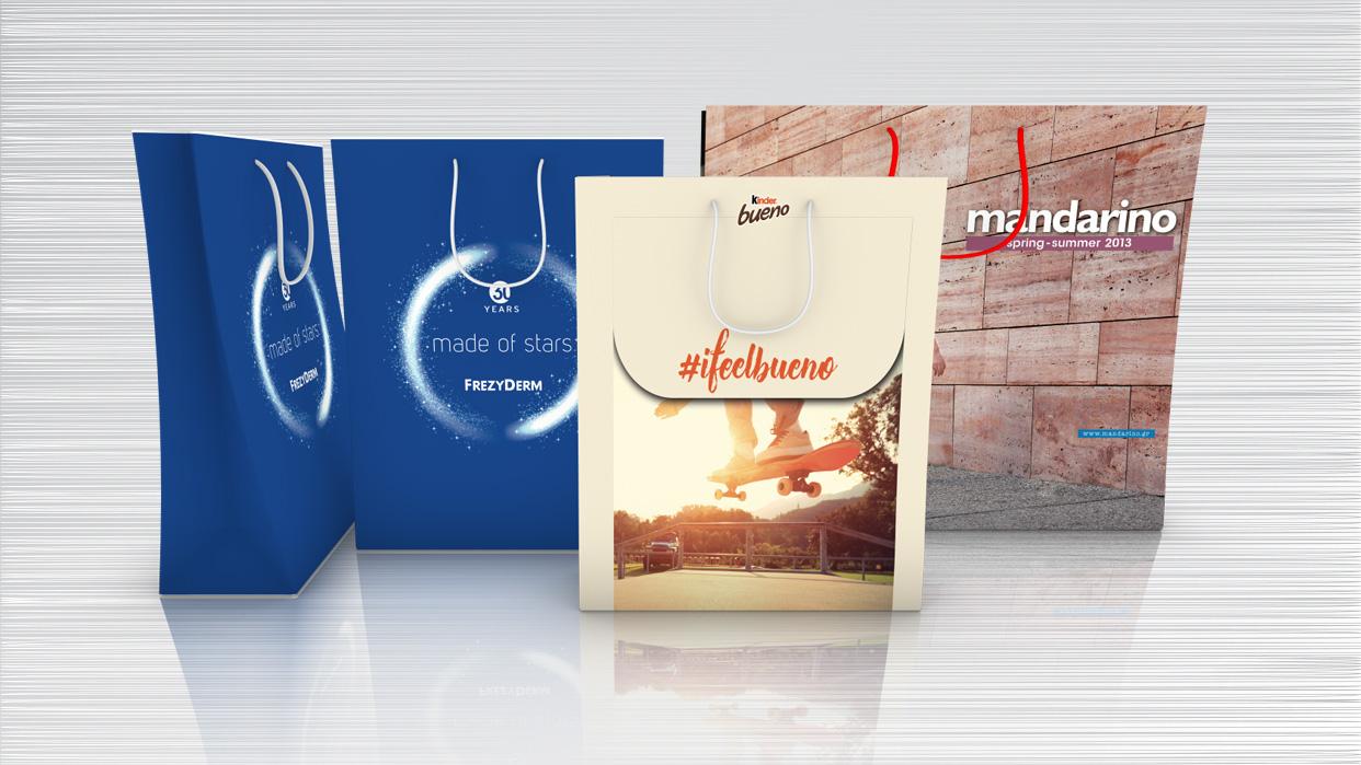 fotolio ektyposeis etairikh taytothta 1stProduct Bags