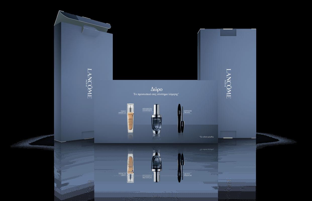fotolio promotion marketing syskevasia packaging lancome tiny