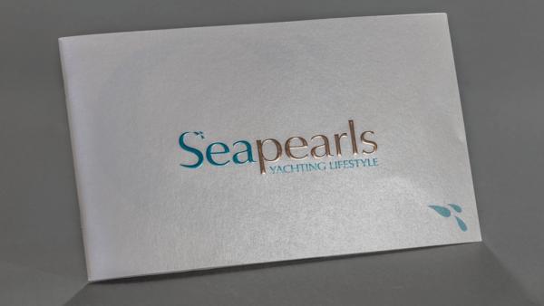 Fotolio erga ektyposeis leaflets seapearls yachting lifestyle