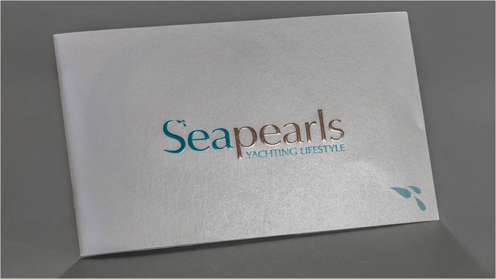 Fotolio erga ektyposeis leaflets seapearls yachting lifestyle