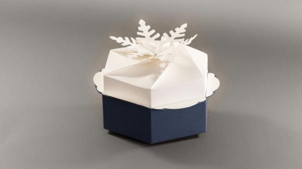 Fotolio erga ektyposeis syskevasia packaging christmas box