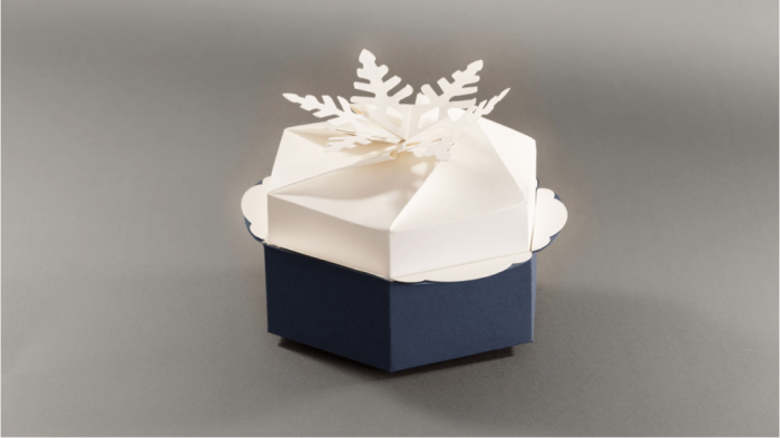 Fotolio erga ektyposeis syskevasia packaging christmas box