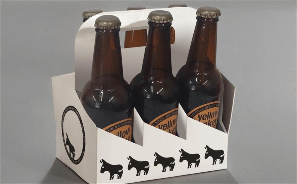 Fotolio erga ektyposeis syskevasia promo packaging santorini brewing company beers